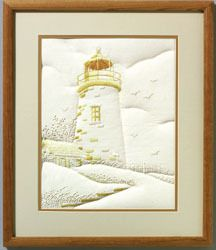 Lighthouse - Embroidery Kit