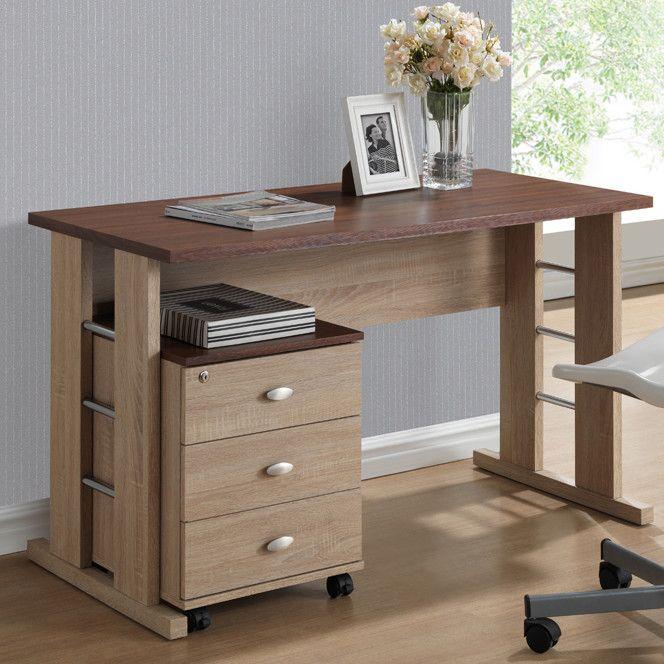 Best 25+ Desk with file cabinet ideas on Pinterest   Filing ...
