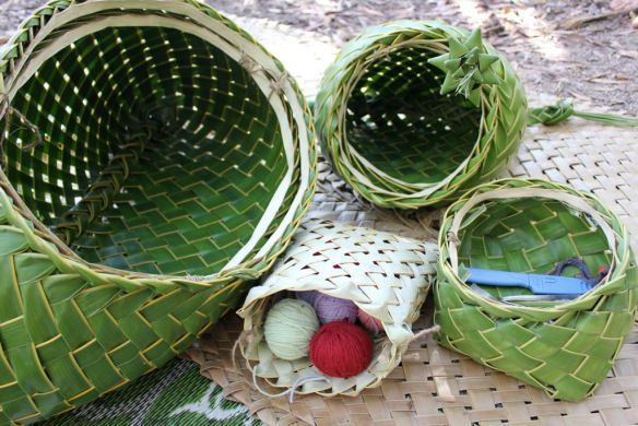 21 Best Coconut Palm Frond Weaving Images On Pinterest