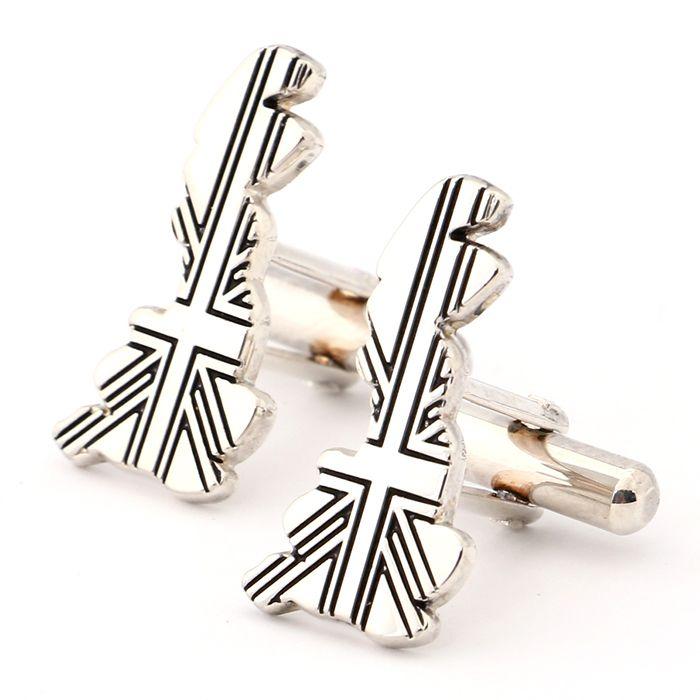 グレートブリテン島、ユニオンジャックがデザインされたカフスリンクス。イギリス発祥のモッズスタイルの仕上げに使ってみると面白いかもしれません。ポールスミスのカフスリンクスです。  https://kashi-kari.jp/products/r005075 #カフスボタン