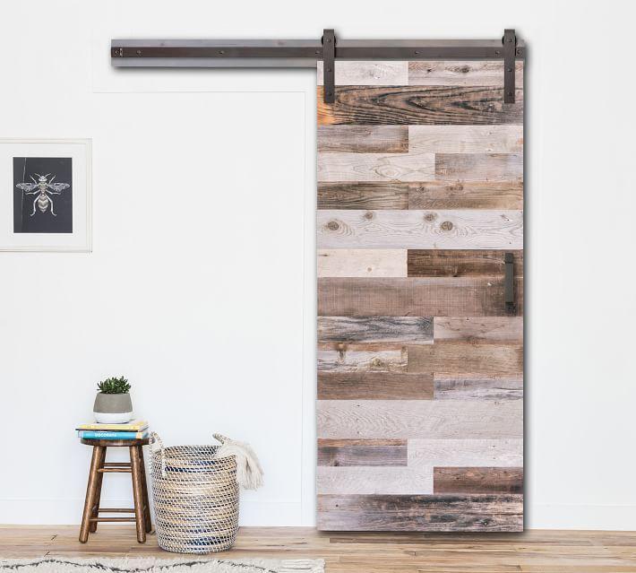 Image Result For Designs Using Spiced Teak And Galvanized Paneling Wood Barn Door Barn Door Handles Barn Door