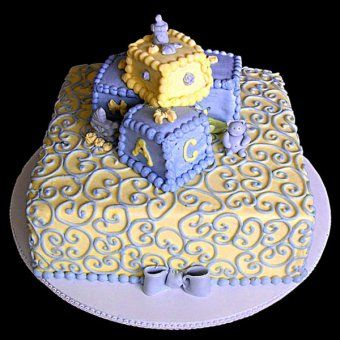 Gâteaux pour Baby Shower : le gâteau girafe - Magicmaman.com