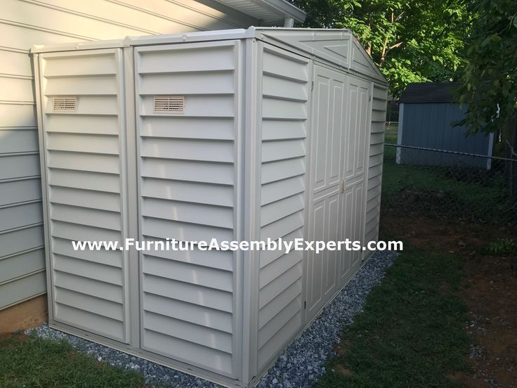 Duramax Storage Shed Assembled For A Customer In Bethesda MD By Furniture  Assembly Experts
