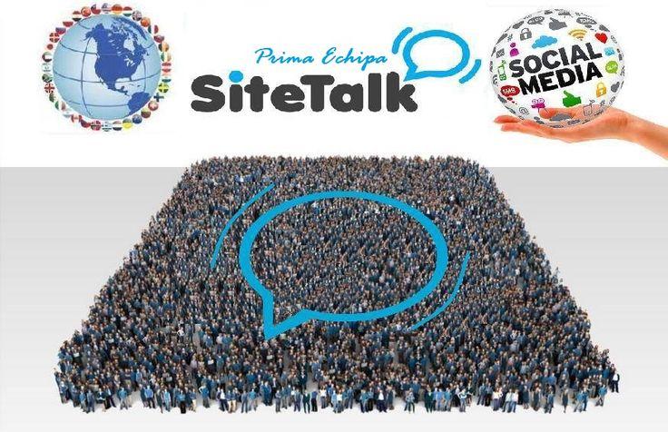 Welcome to our global #SiteTalk team !  www.SiteTalk.com/PrimaEchipa