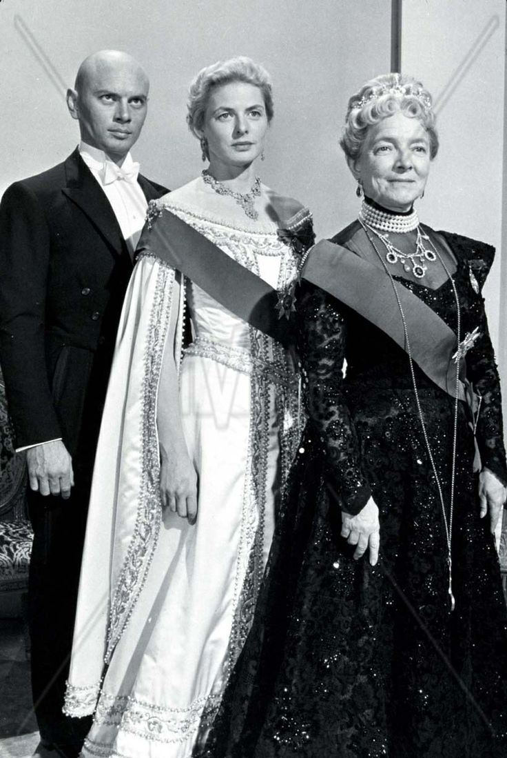 Anastasia the 1956 film staring yul brynner ingrid