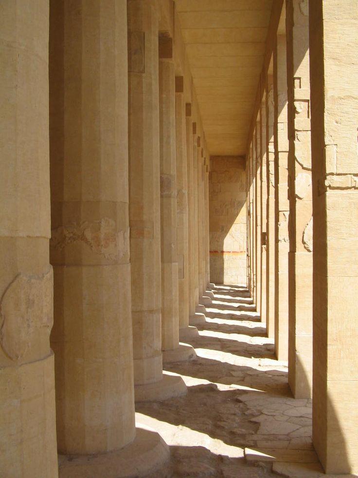 Temple of Hatshepsut near Luxor. Photo: David Yustin