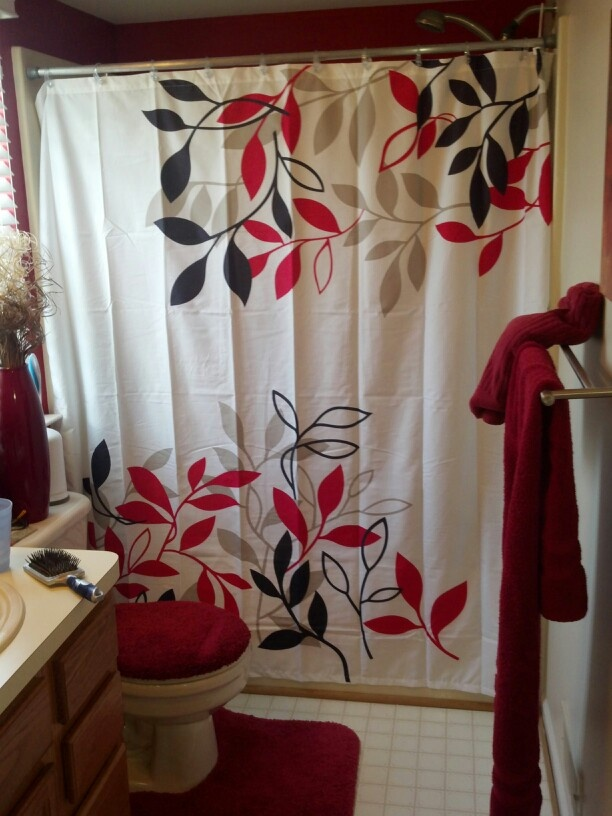 Best 25 red bathrooms ideas on pinterest paint ideas for bedroom bathroom wall colors and - Red bathroom color ideas ...