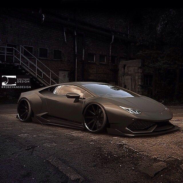 Instagram media by carinstagram - LB Works inspired Carbon Widebody Lamborghini Huracan By @robevansdesign