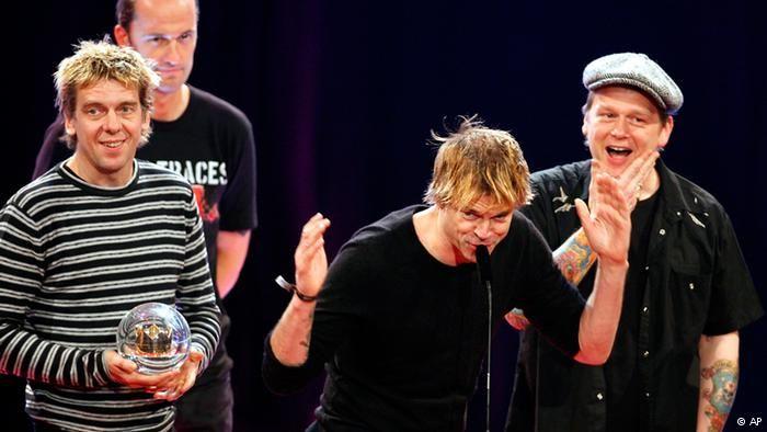 Die Toten Hosen (ddp images/AP Photo/Roberto Pfeil)