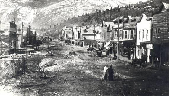 Rossland, British Columbia, Canada 1896
