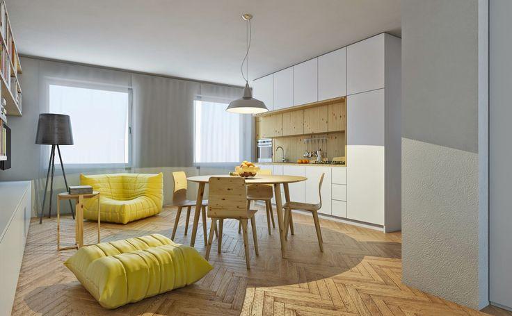 Small flat reconstrucion for young family | Česká Lípa, Czech Republic