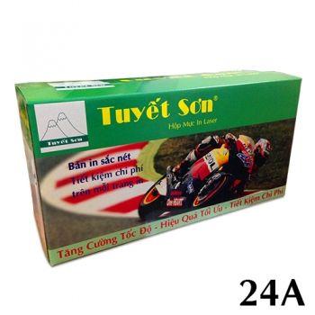 Hộp mực 24a Tuyết Sơn Luôn Đảm Bảo Cho Quí Khách Giá Rẽ - Uy Tín - Bảo Hành Cho Tới Khi Hết Mực