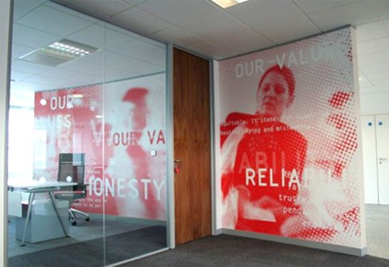 The main picture #office #branding #walls #decor #graphics