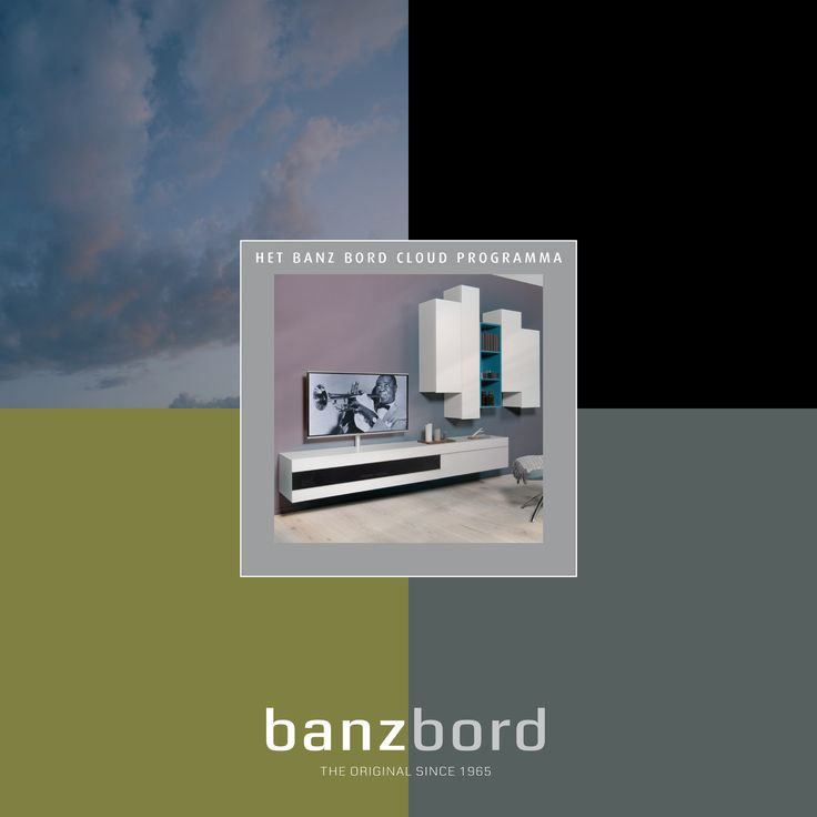 Cover brochure for Banz Bord, wall units