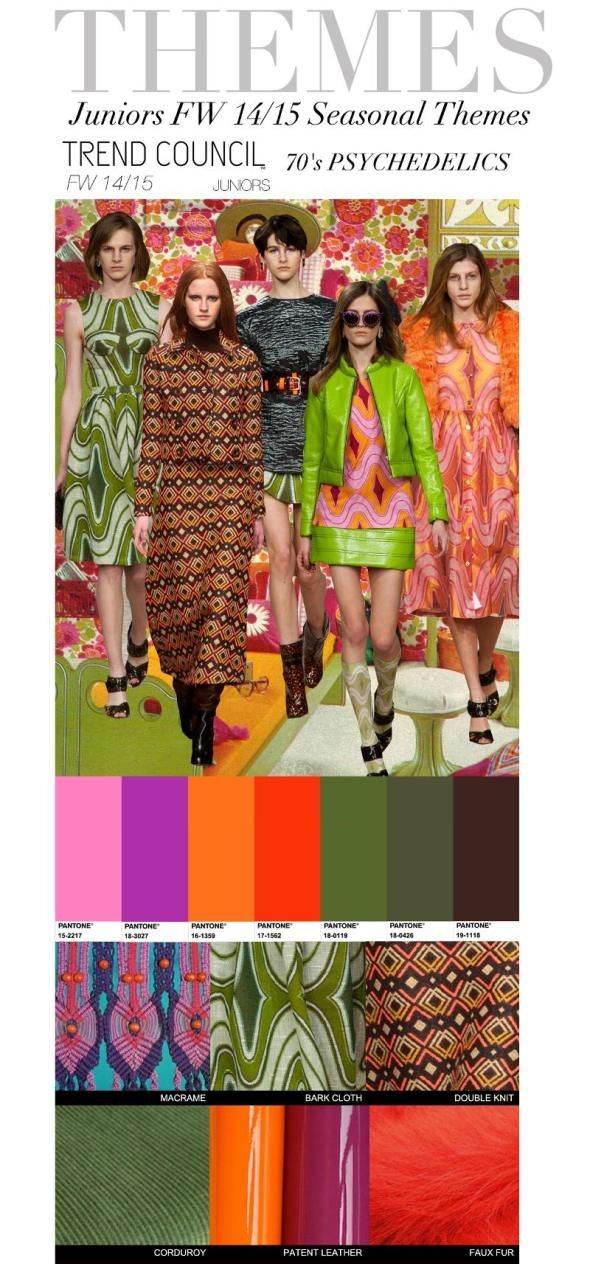 FASHION VIGNETTE: TRENDS // TREND COUNCIL - JUNIORS AND LADIES . A/W 2014-15