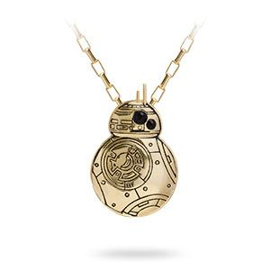Created exclusively for ThinkGeek by Han Cholo, this BB-8 unit looks sweet hanging around your neck and you don't have to worry about somebody mugging you for it. We predict the only mugging involved is going to be you for the camera.
