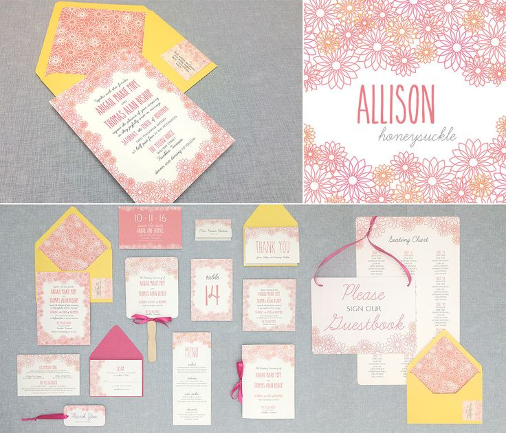 35 best pink and sage wedding images on pinterest sage wedding pink daisy diy wedding invitation suite includes 16 printable templates love this for a junglespirit Images