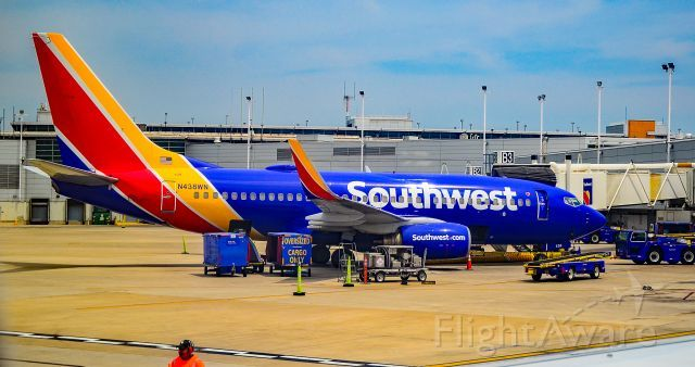 N438wn Southwest Airlines Boeing 737 7h4 S N 29833 Chicago