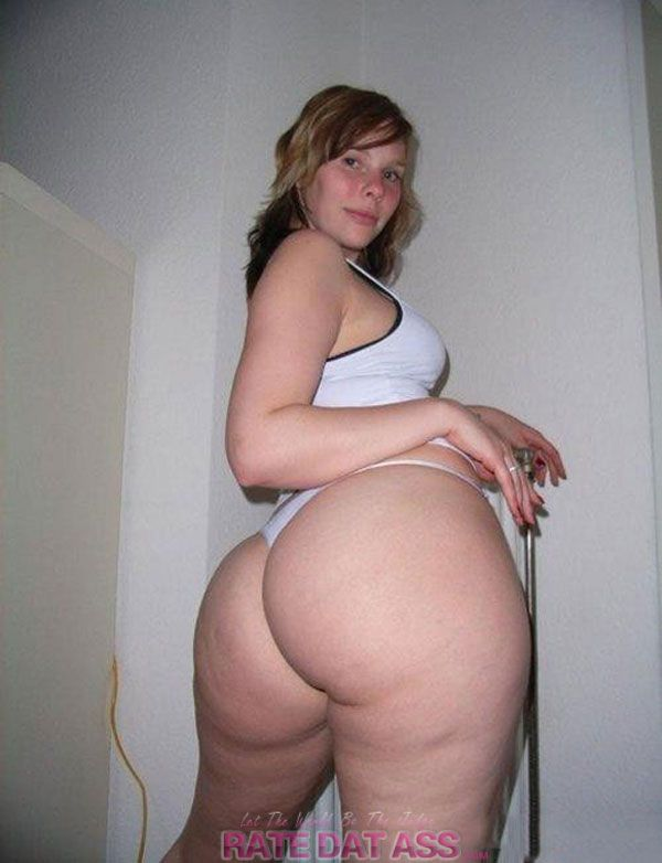 Thick fat ass white girls