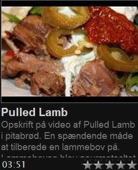 Pulled lamb