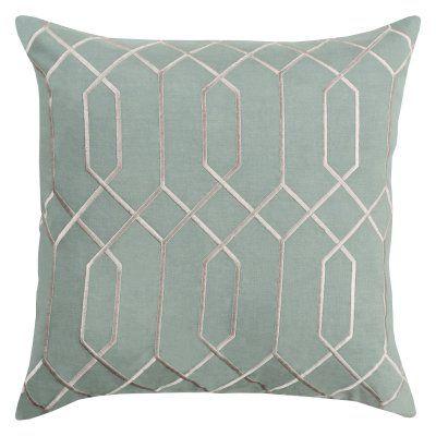 Surya Skyline V Decorative Throw Pillow Poly Sage - BA038-2222P