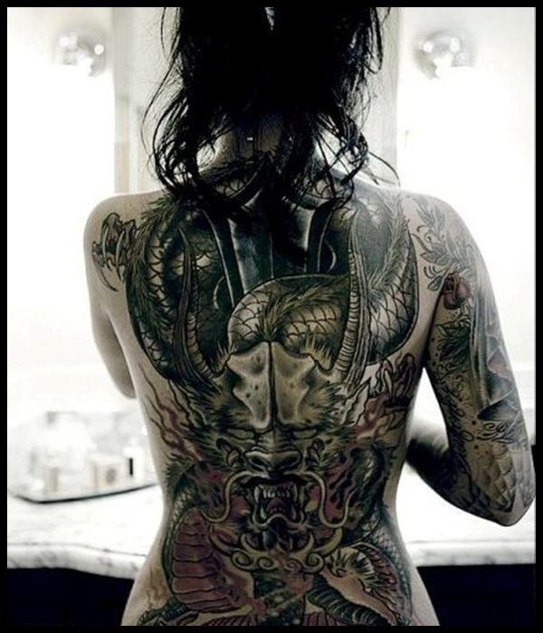 25+ Melhores Ideias De Tatuagem Nas Costas No Pinterest