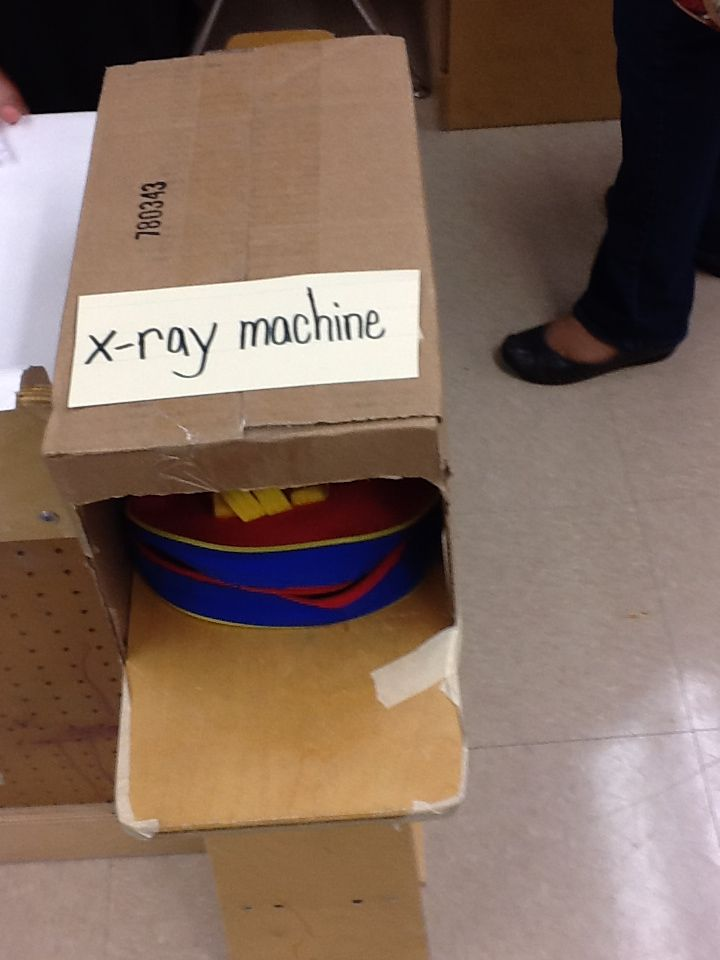 X ray machine in airport- Romberg Dobie Pre-k Center