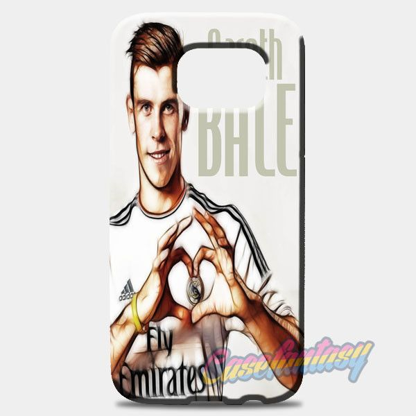 Gareth Bale 11 Caricature Real Madrid Fc Samsung Galaxy S8 Case | casefantasy