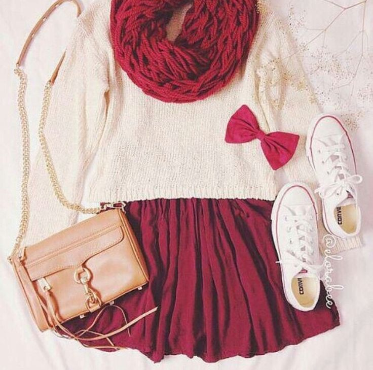 Valentine's Day outfit for teens cute and simple