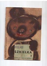 M Buczkówna Szkiełka il H Matuszewska 1966  Polish book for children
