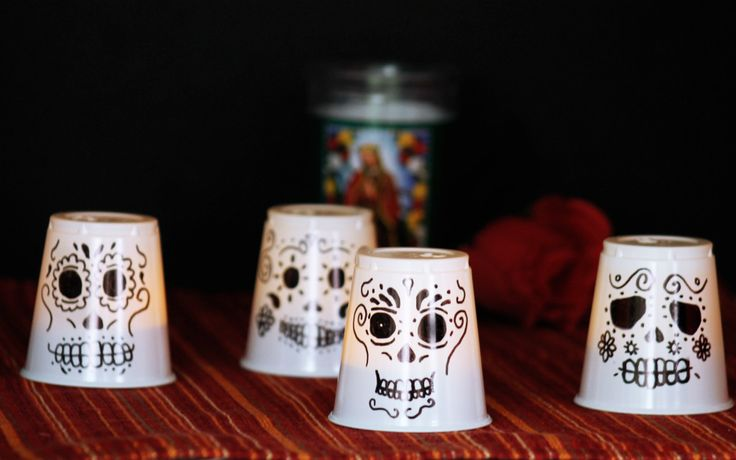 Day of the Dead Craft: Kid Friendly Lanterns - Growing Up Bilingual