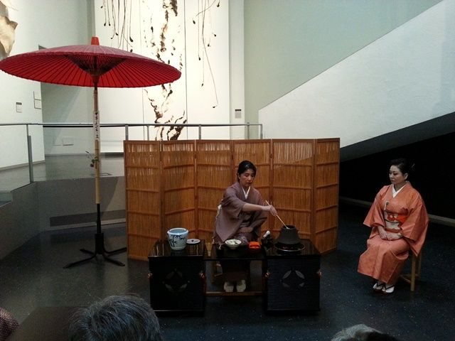 Hanamichi: Tea Ceremony with East-West Chanoyu Center & Drinking the Moon Teahouse at Bellevue Arts Museum