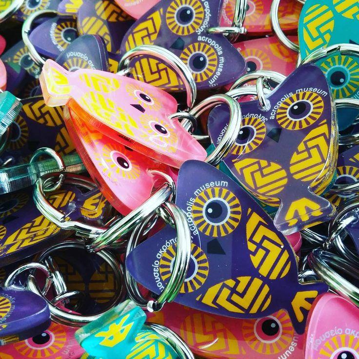 #owl #keychain #keyring #acropolismuseumshop #museumshop #museumstore #gift #giftshop #screenprint #silkscreen #plexiglass #acrylic #colors #pink #purple #green  #greece  #art #souvenir #plexiartshop #picoftheday #madeingreece #productdesign #greecestagram #greekdesigners #acropolismuseum #photooftheday #picoftheday #graphicdesign #decorative  @plexiartshop
