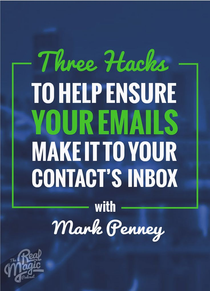As a small business owner, you understand how important it is to keep in touch with your new leads and customers and it can be a challenge to get your emails opened. Listen in to our podcast episode, where we interview Mark Penney, expert in email delivery.  Enjoy =)