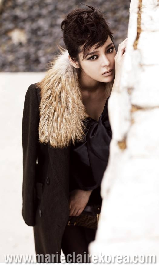 park si yeon for Marie Claire mag.