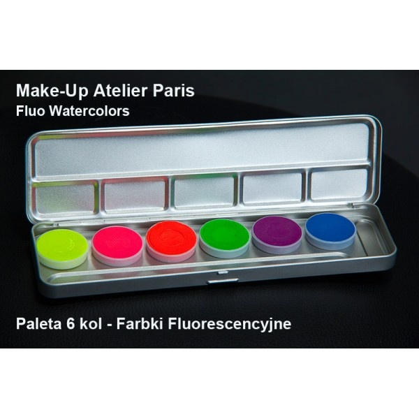 Make-up Atelier Paris Fluo Watercolors  www.folaroni.com