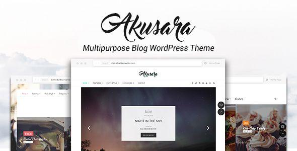 Akusara - Multipurpose Blog Theme