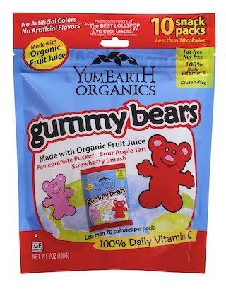 Enter to Win A Bag of YumEarth Organic Gummy Bears!
