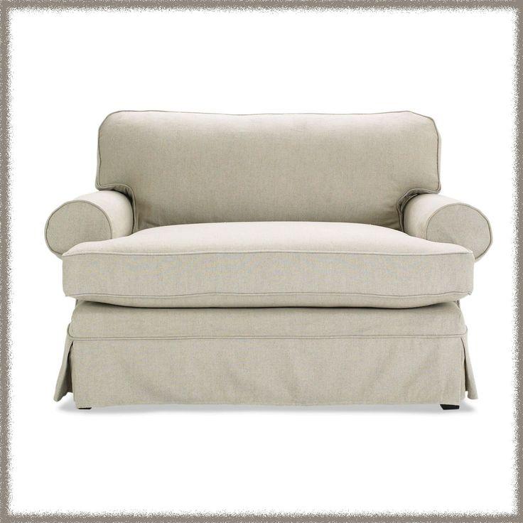 Nantucket Alexa Slipcovered Chair Amp 1 2 Sleeper Home