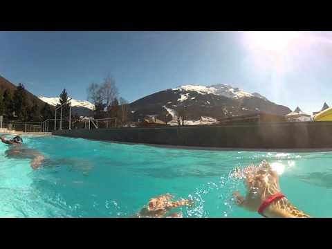 Bormio Terme Spa - una montagna di benessere nel cuore di Bormio - YouTube
