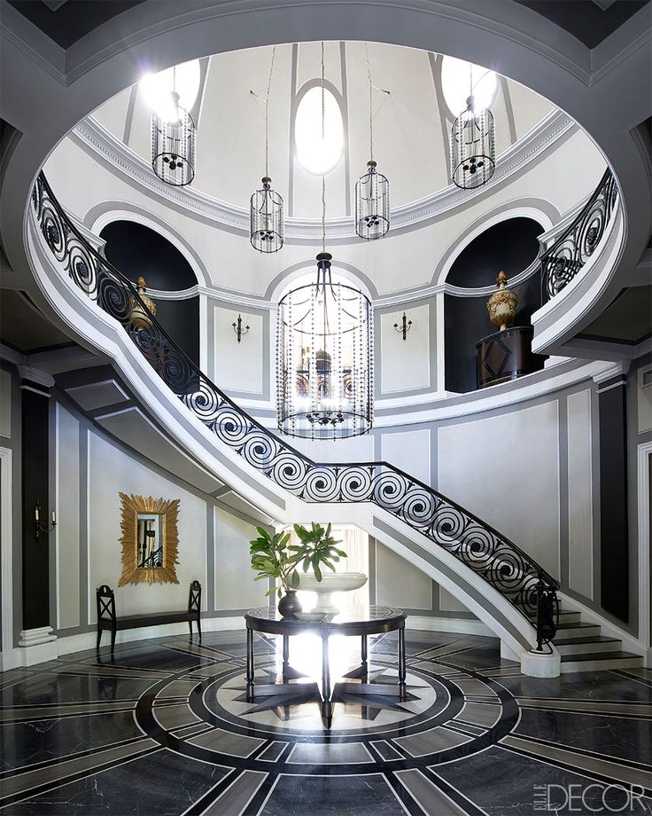 109 best Grand Staircases images on Pinterest   Luxury houses ...