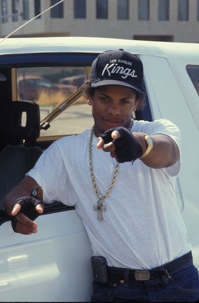 Easy E. (Eric Wright) (September 7, 1963 - March 27, 1995) American rapper (member of NWA).