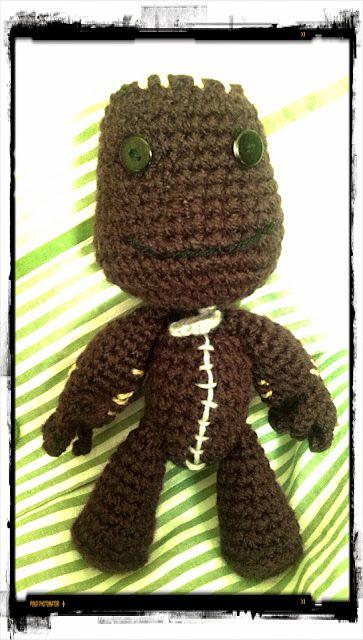 #Sackboy #Little Big Planet #crochet #ganchillo