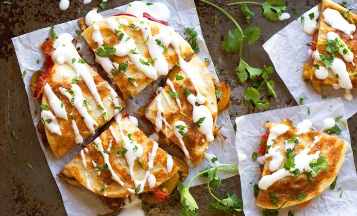 Yummy! Maak eens vegetarische quesadilla's met je overgebleven wraps. We hebben 6 van de beste recepten ever voor je opgezocht. Echt waar, ze zijn super!