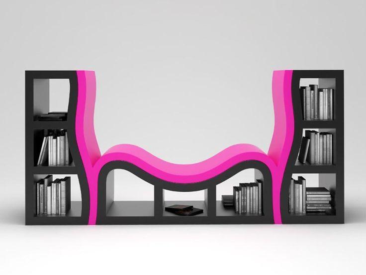 luxury bookshelves design ideas for minimalist apartment
