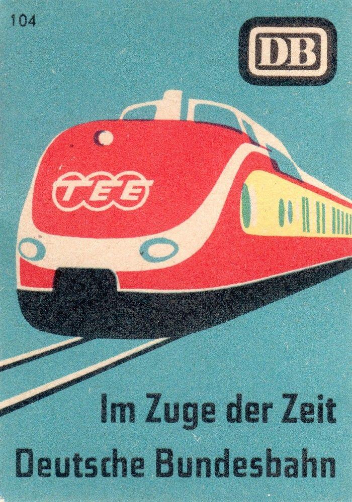 matchboxlabel Deutsche Bundesbahn, 1957