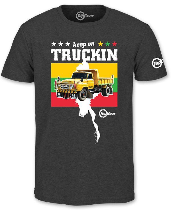 """""""Top Gear"""" Top Gear: Burma Keep on Truckin T-Shirt at BBC Shop"""