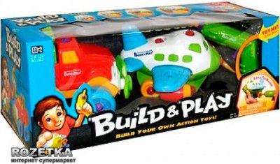 Игровой набор Keenway Build & Play Самолет и джип (K11866)