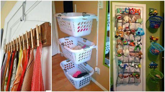 15 ideas creativas para organizar el hogar espacios para