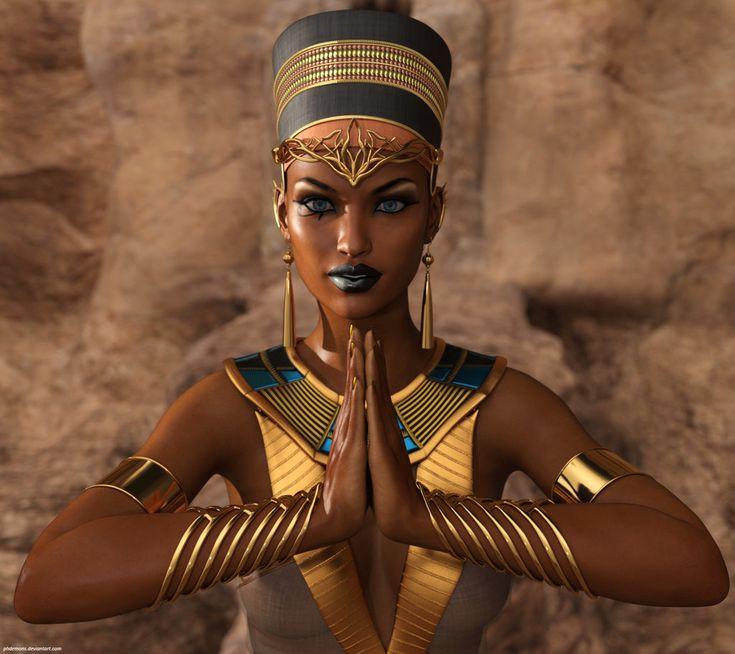 Hookywooky In 2019  Black Women Art, Egyptian Queen -7437